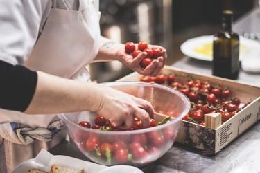 Cocina del Restaurante Los Albardinales