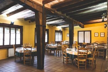 Comedor del Restaurante Los Albardinales